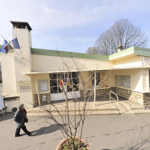 Ecole Maternelle Edouard Herriot - École maternelle publique - Maisons-Alfort