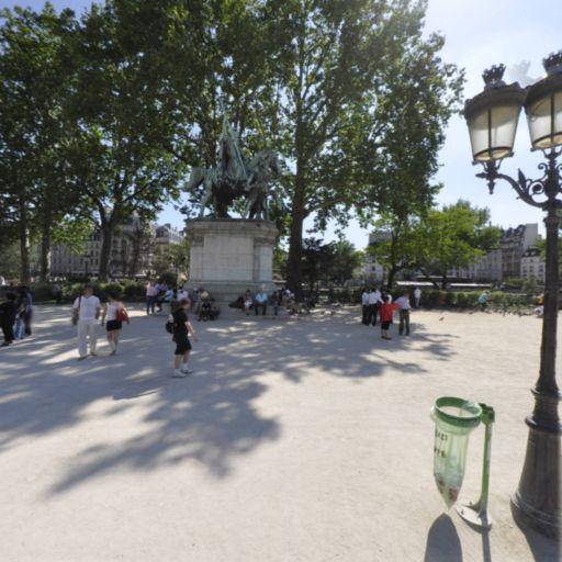Charlemagne et ses Leudes - Parc naturel - Paris