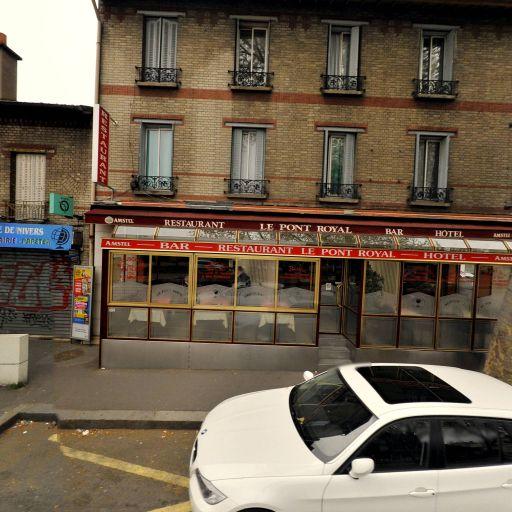 Hôtel Restaurant Du Pont Royal - Hôtel - Bagneux