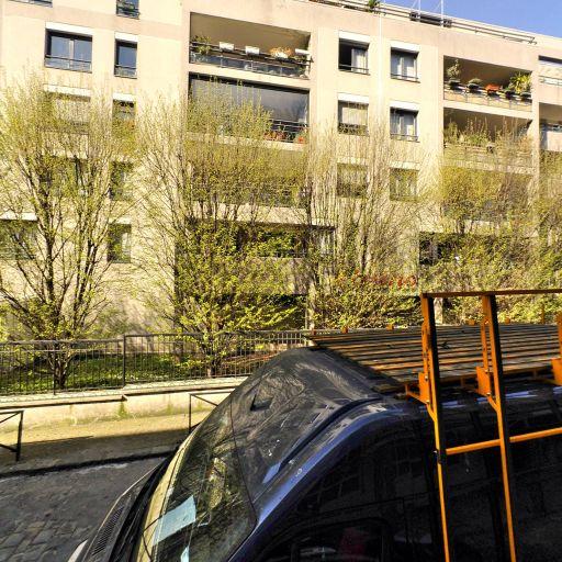 Jardin Des Amandiers - Parc et zone de jeu - Paris