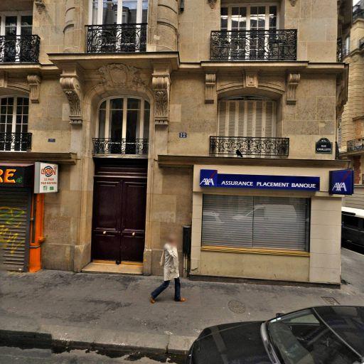 Chardonnal Sébastien - Société d'assurance - Paris
