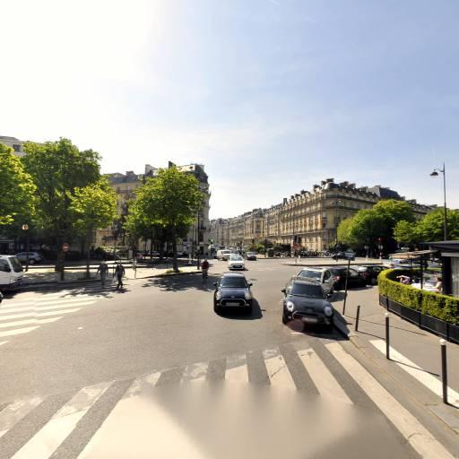 Station Vélib' Flandrin - Henri Martin - Vélos en libre-service - Paris