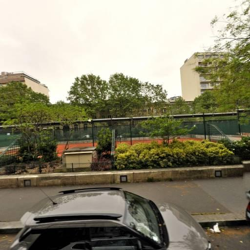 Site Pereire - Terrain et club de tennis - Paris