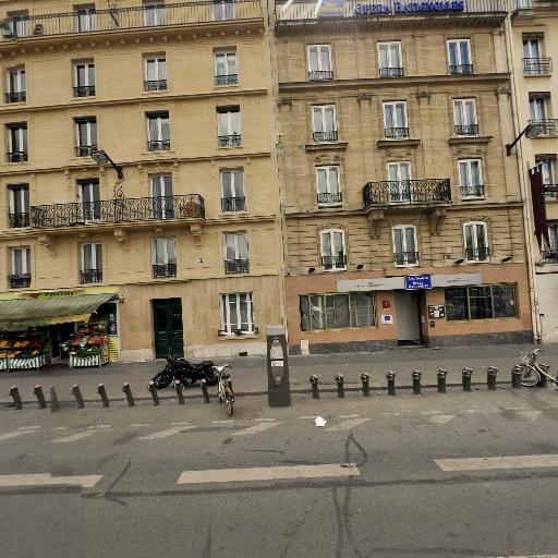 Station Vélib' Gare de Pont-Cardinet - Vélos en libre-service - Paris