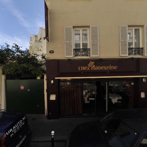 Chez Madeleine - Restaurant - Boulogne-Billancourt
