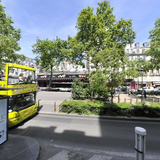 Station Vélib' Clichy - Place Blanche - Vélos en libre-service - Paris