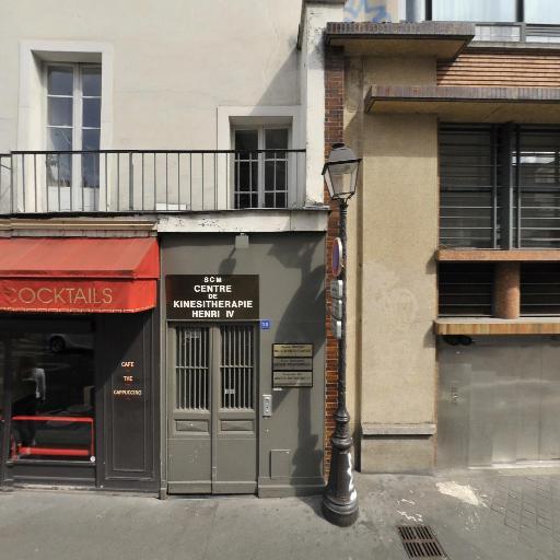 Amélie Clerc - Masseur kinésithérapeute - Paris
