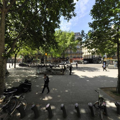 Station Vélib' Place Jacques Bonsergent - Vélos en libre-service - Paris