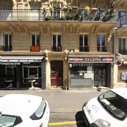 Station Vélib' Faubourg Poissonniere - Delta - Vélos en libre-service - Paris