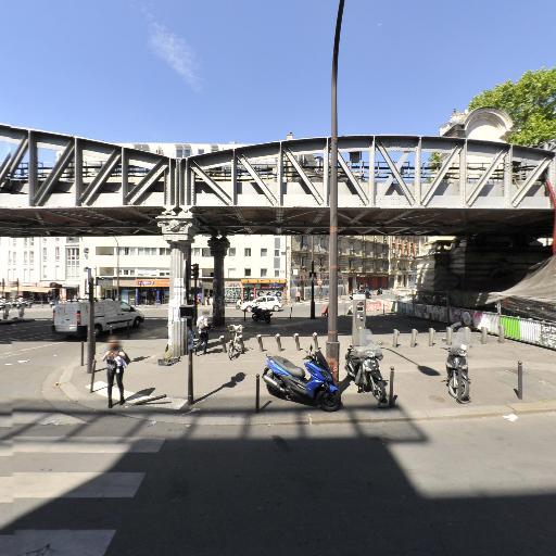 Station Vélib' Gare du Nord - La Chapelle - Vélos en libre-service - Paris