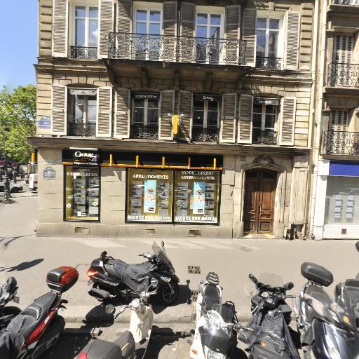 CENTURY 21 Magenta La Fayette - Agence immobilière - Paris