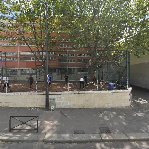 Tep Jemmapes - Terrain de basket - Paris