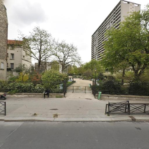 Square des Saints-simoniens - Menilmontant - Parc, jardin à visiter - Paris