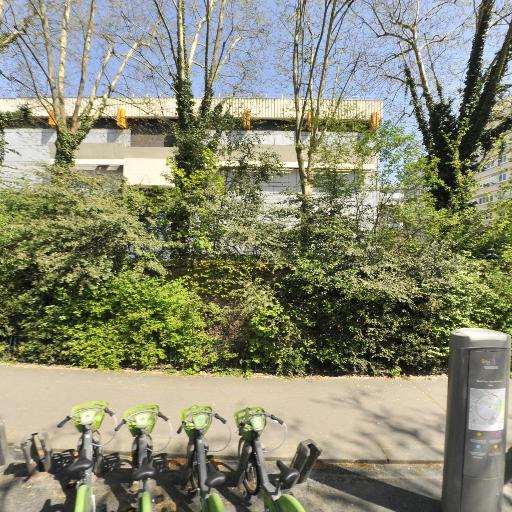 Station Vélib' René Coty - Parc Montsouris - Vélos en libre-service - Paris