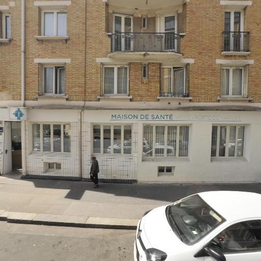 SANTE PLURIPRO UNIV PARIS PTE VANVES Perron Catherine - Infirmier - Paris