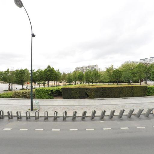 Station Vélib' Parc André Citroën - Vélos en libre-service - Paris