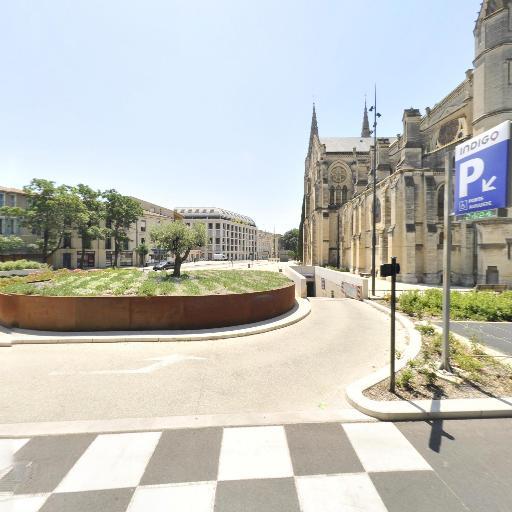 Nîmes - Porte Auguste - Indigo - Parking réservable en ligne - Nîmes