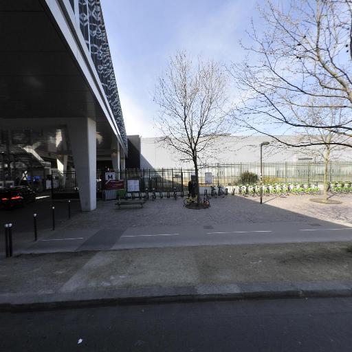 Station Vélib' Ernest Renan - Parc des Expositions - Vélos en libre-service - Paris